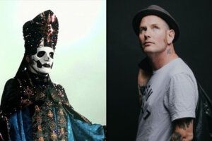 """GHOST & Corey Taylor Stream Covers Of METALLICA's """"Enter Sandman"""" & """"Holier Than Thou"""""""