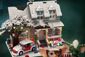 LEGO IDEAS Project Featuring 'Gremlins' House and Characters Needs Your Support