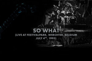 """METALLICA Drops 1993 Live Performance Of """"So What"""""""