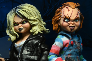 NECA Brings Chucky and Tiffany Back to the Toy Shelf With New Clothed Action Figure 2-Pack!