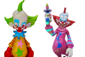 Spirit Halloween Has Added 'Killer Klowns from Outer Space' Light-Up LED Statues to Their Shop!
