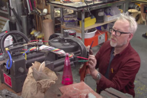 Adam Savage Constructs a 'Ghostbusters' Proton Pack
