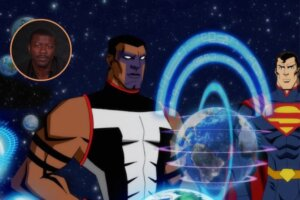 'Coming Soon: Interview: Edwin Hodge on Voicing Mr. Terrific in the Injustice Movie'
