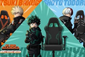 'Coming Soon: My Hero Academia and GT Omega Partner for Limited Edition Gaming Chairs'