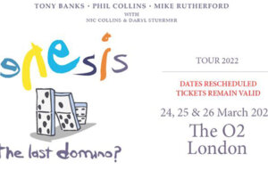Genesis reschedule London shows for March