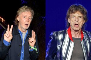 It's 2021 and Paul McCartney and Mick Jagger are trading jibes