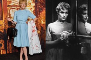 Jamie Lee Curtis Showed Up at the 'Halloween Kills' Premiere Dressed as Mom Janet Leigh's Character from 'Psycho'