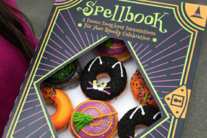 Krispy Cream Gets in the Halloween Spirit With a Spellbook and Spooky Donuts