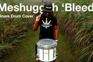 """MESHUGGAH's """"Bleed"""" On A Marching Snare Drum Is Really Impressive"""