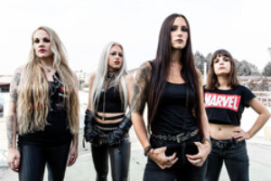 """Metal Underground – Nervosa Releases Behind The Scenes Video For """"Guided By Evil"""" Music Video"""