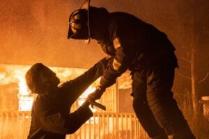 """Petition Reads: """"Remove The Slaughtering of Firefighters From 'Halloween Kills'"""""""