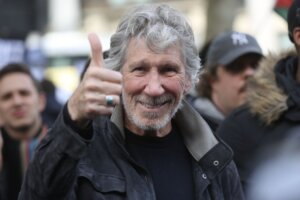 """Roger Waters shares wedding photos, declares Kamilah Chavis, his fifth wife, """"a keeper"""""""