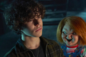'Slash Film: Chucky Review: Everyone's Favorite Killer Doll Makes A Bloody Jump To TV'