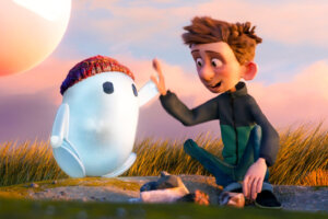 'Slash Film: Ron's Gone Wrong Review: A Messy Animated Tech Fantasy'