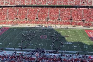 Watch the Ohio State University Marching Band's magnificent tribute to Rush